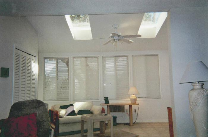 Family Room with Sky Lights  - 123 Seaport Blvd.