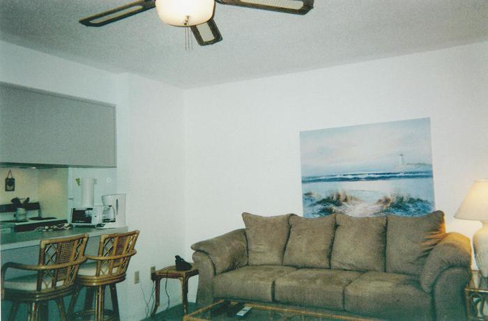Living Room  - 123 Seaport Blvd.