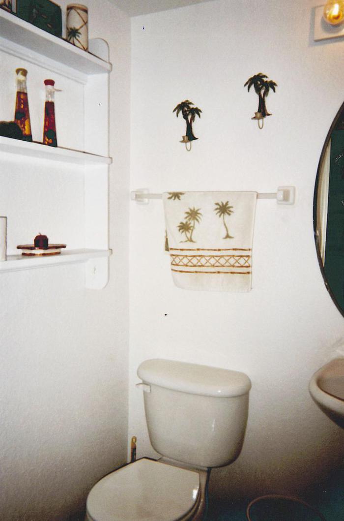 1st Floor half Bath Room (powder room) - 544 North Seaport Blvd.