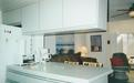 Kitchen with view of Living Room and Family Room  - 123 Seaport Blvd.