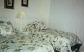 Guest Bedroom with Twin Beds, patio doors to porch - 441 Ocean Park Lane